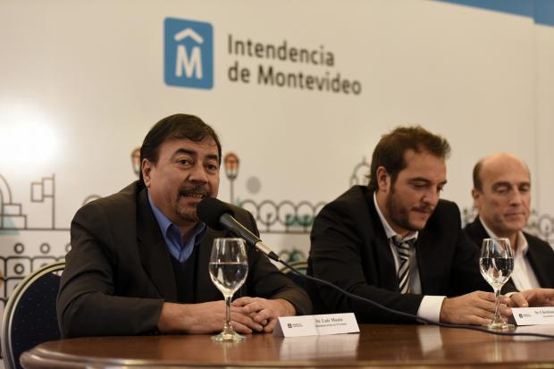 Conferencia de prensa por ingreso de funcionarios con discapacidad.