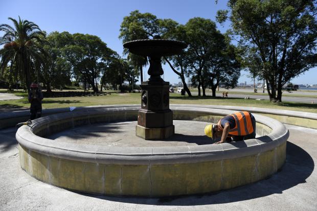 Obras en el Parque Capurro