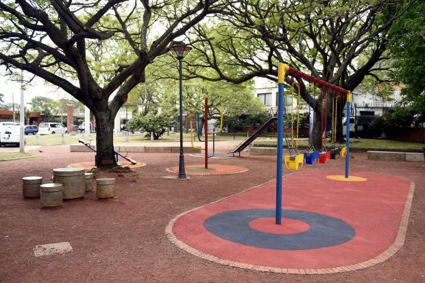 Inauguracion de obras del Presupuesto Participativo en la Plaza Poveda