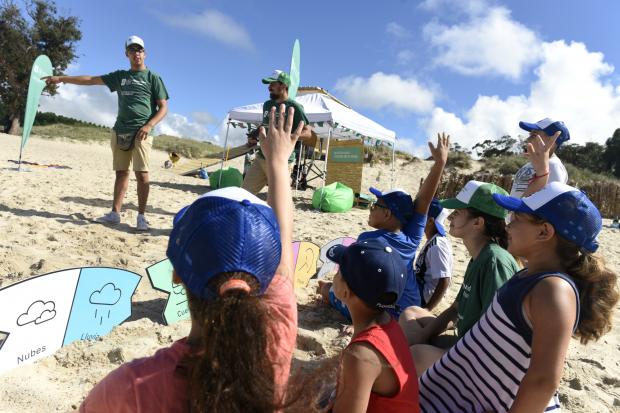 Actividades Cuidado de Playas de Desarrollo Ambiental