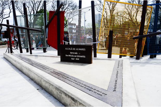 Inauguración plaza Alcala de Henares. Municipio C