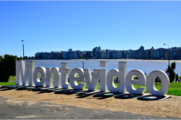 Rambla de Montevideo.