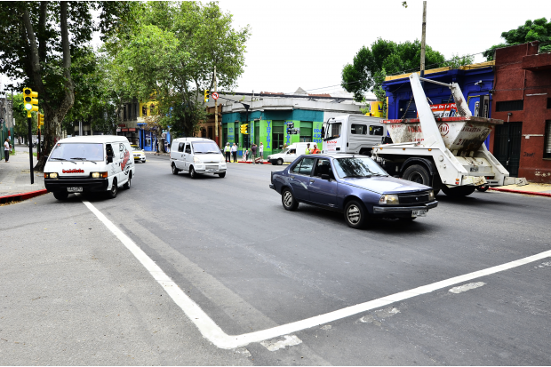 Inauguracion semaforos Avda San Martin y Amezaga