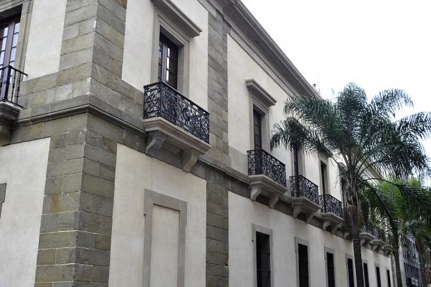 Cabildo de Montevideo. Recuperación de fachada año 2015.
