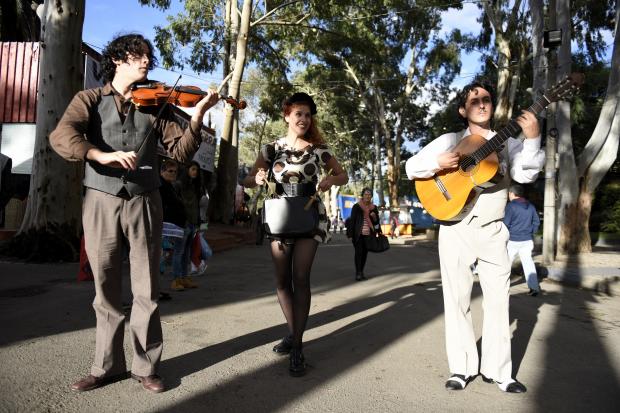 Trio Cumparsita en la Criolla del Prado
