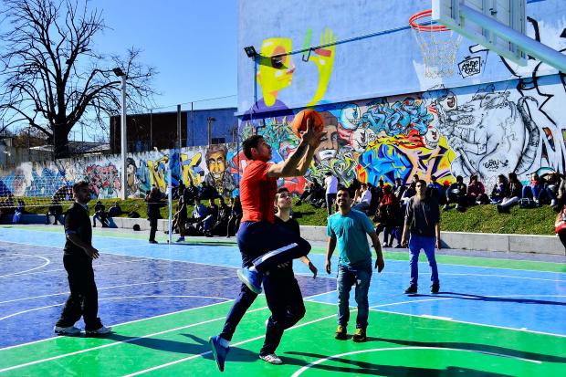 Espacio Polideportivo Ferrer Serra y Democracia