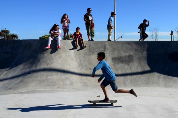 Inauguración skate park Casavalle