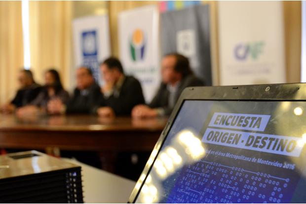 Conferencia de prensa encuesta de movilidad del area metropolitana
