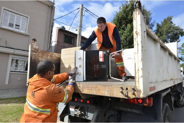 Jornada Especial de Limpieza de residuos de gran tamaño