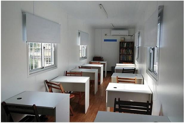 Aulas para proyecto Educativo para niñas, niños y jóvenes de Carrasco Norte