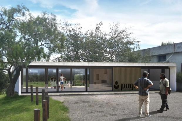 Render Centro visitantes del Pagro