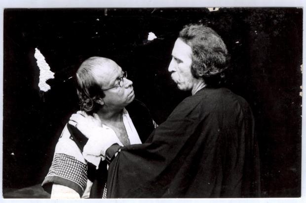 Alberto Restuccia, Luis Cerminara en obra Don Juan