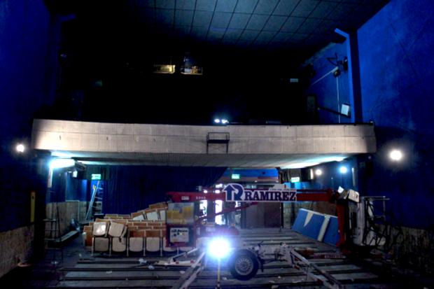 Obras en el Cine Universitario