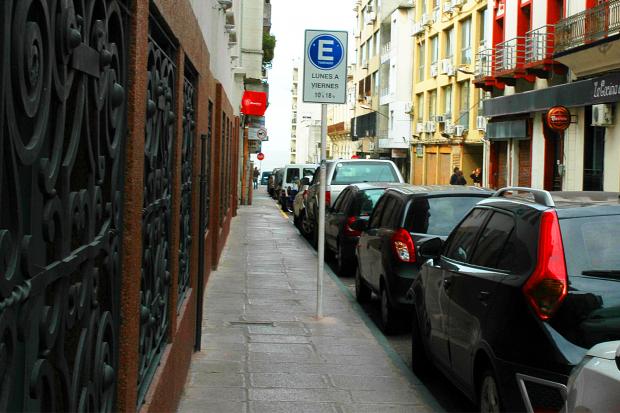 Cartelería de Estacionamiento