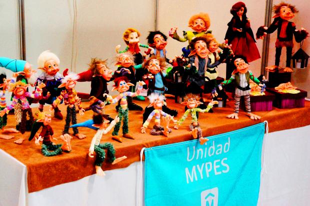 Exposición Mypes en Atrio IM