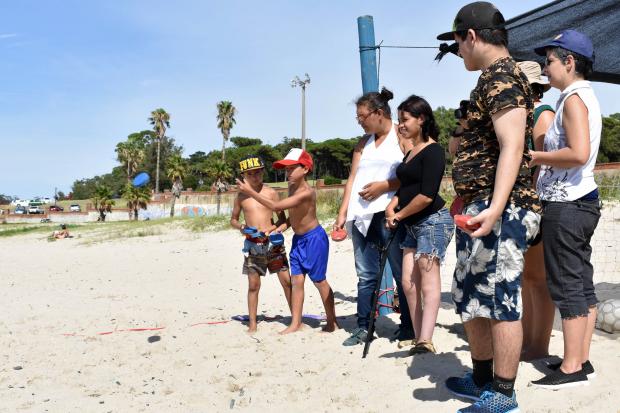 Actividad recreativa Playa del Cerro