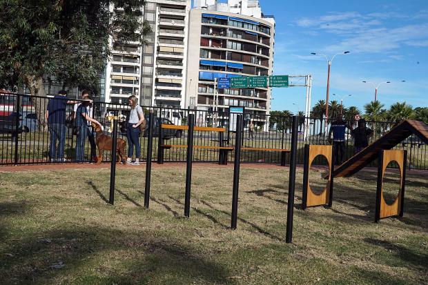 Inauguración de Parque Canino