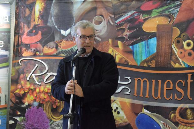 """Feria """"Rocha se muestra"""" en el atrio de la Intendencia de Montevideo"""