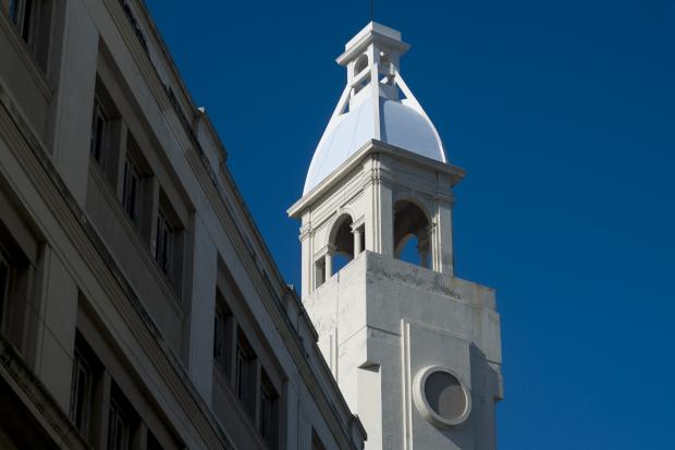 Cúpula de edificio del Correo Nacional