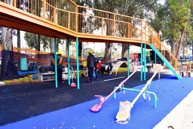 Plaza integradora en avenida de las Instrucciones y Antilllas