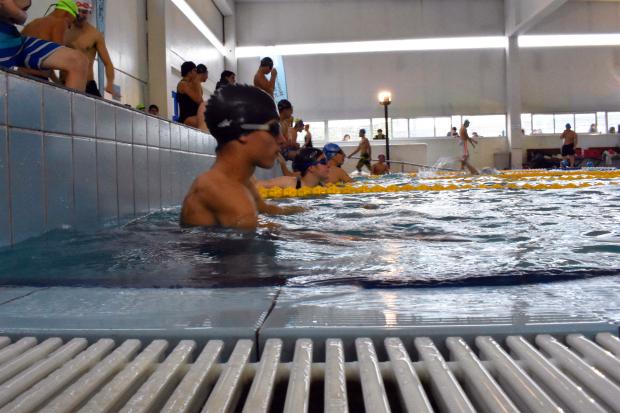 Encuentro de salvamento acuático en Plaza de Deportes 7