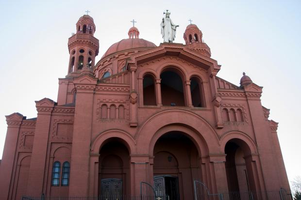 Iglesia del Cerrito de la Victoria. Santuario Nacional del Sagrado Corazón de Jesús.