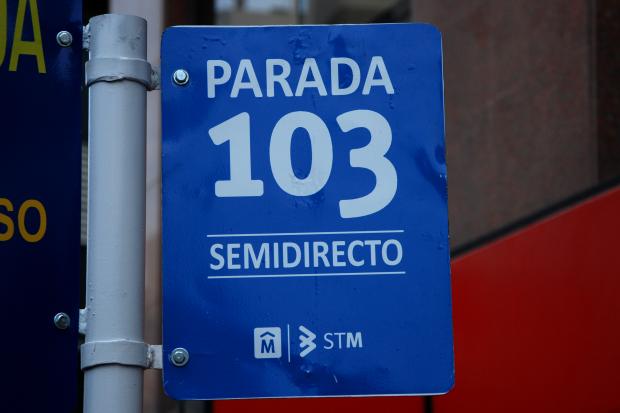 Línea semidirecta 103