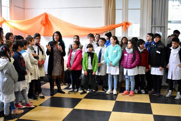 Jornada de integración Parlamento de Niñas y Niños