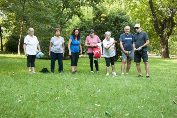 Actividad recreativa en el Jardín Botánico