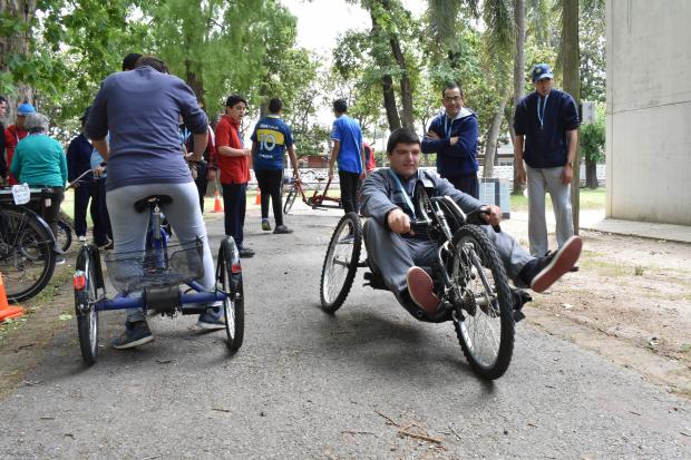 Cierre del Programa Atencion Personas con Discapacidad Plaza de Deportes Nº 7
