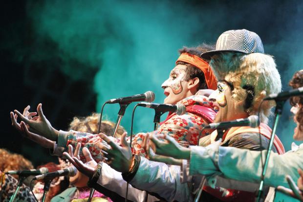Murga Cayo la cabra en el Carnaval 2017