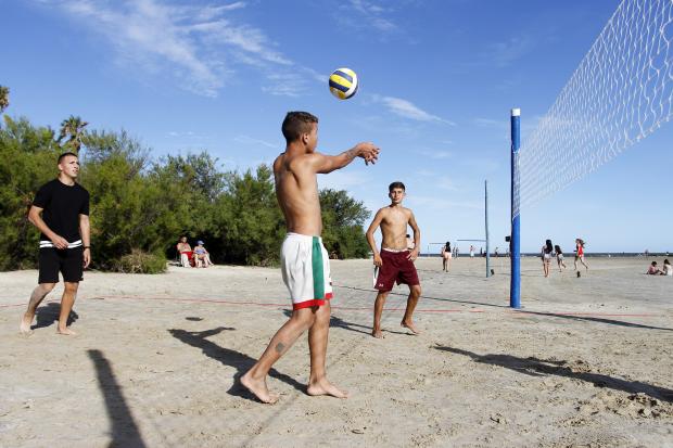 Deporte en playas