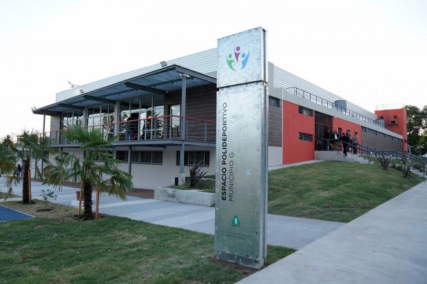 Resultado de imagen para polideportivo municipio g