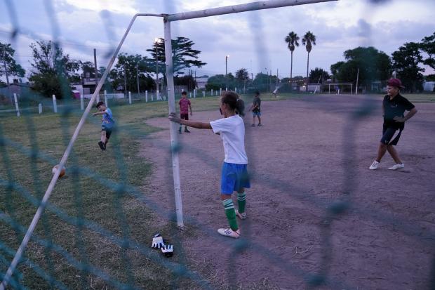 Inauguracion de Sali Jugando en el Club Asociación Deportiva Juvenil