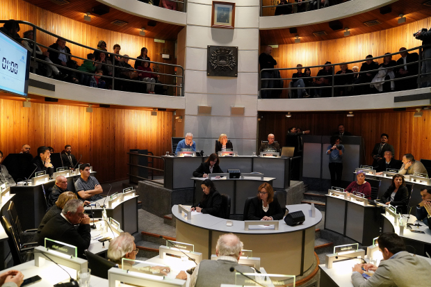Adriana Barros asume la presidencia de la Junta Departamental