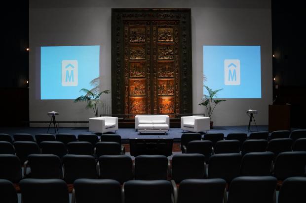 Salon Azul de la Intendencia de Montevideo