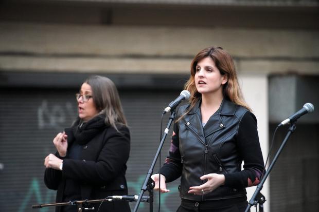 Inauguración de la Plaza de la Diversidad.