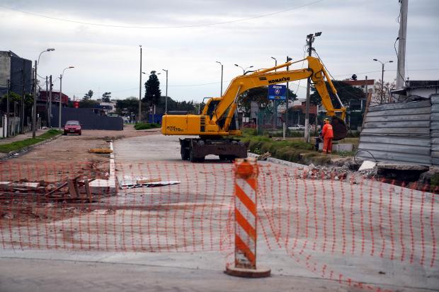 Recorrida de obras en la calle Jacobo Varela