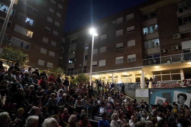 Inauguración de plaza Luisa Cuesta