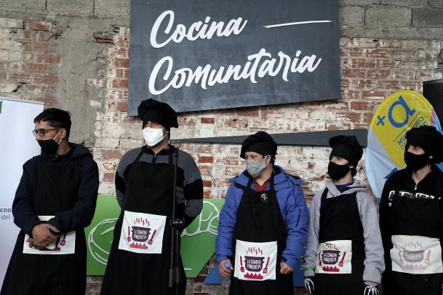 Inauguración de cocina comunitaria en el PTI Cerro