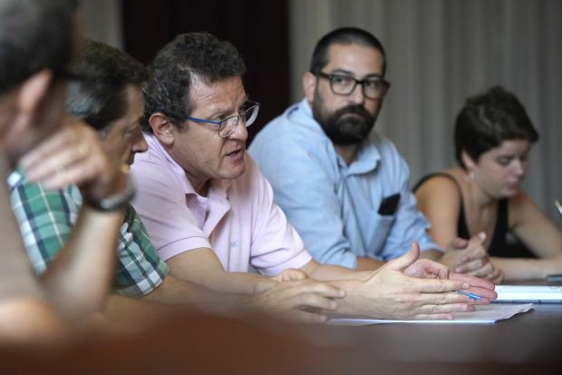 Reunión entre Christian Di Candia y Desarrollo Ambiental