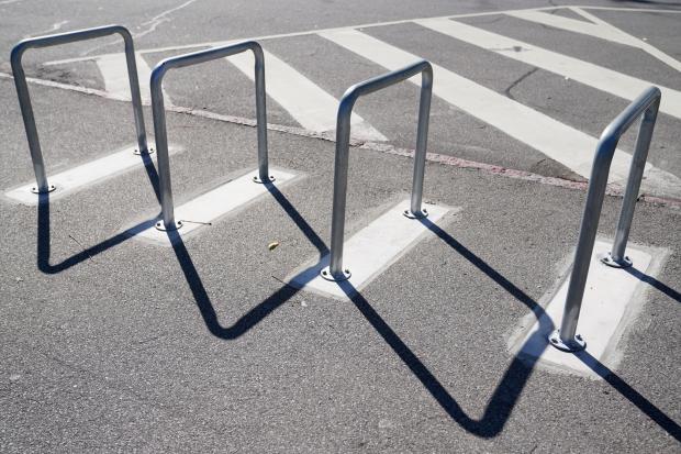 Instalación de bicicletarios