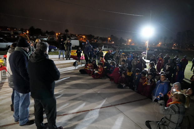 Inauguración Salí Jugando Club Racing infantil