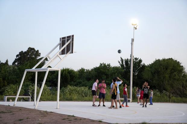 Nueva urbanización en barrio Peñarol