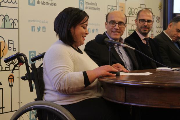 Convenio entre IM con IMC y Mercociudades por Mujeres Discapacitadas