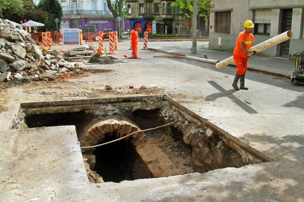 Montevideo Mejora, saneamiento Arteaga