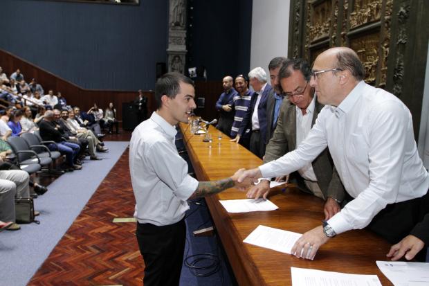 Ceremonia de Presupuestación de Funcionarios