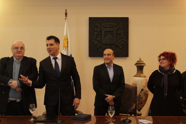 Declaración de Nelson Pino como Ciudadano Ilustre