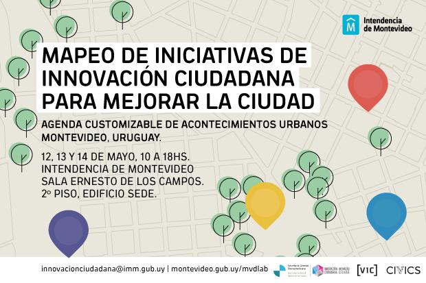 Mapeo de Iniciativas de Innovación Ciudadana para mejorar la ciudad