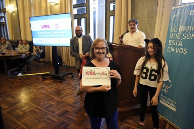 Entrega de diplomas Talleres Webcinos 2019